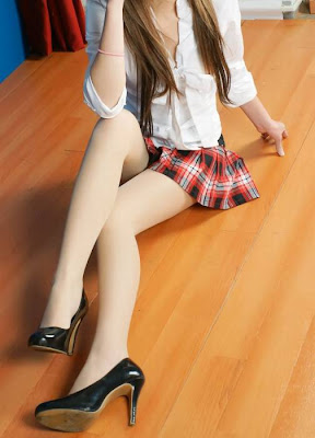 Asian hot school girl after 90