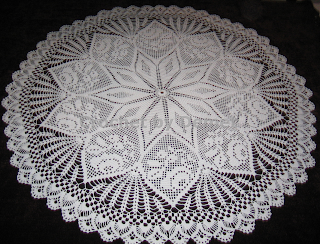 Crochet Pattern Central - Free Tablecloth Crochet Pattern Link