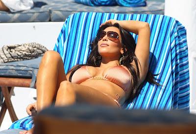 Kardashian  Size on Manny Ramirez  Larissa Riquelme S Bra Size Similar To Kim Kardashian