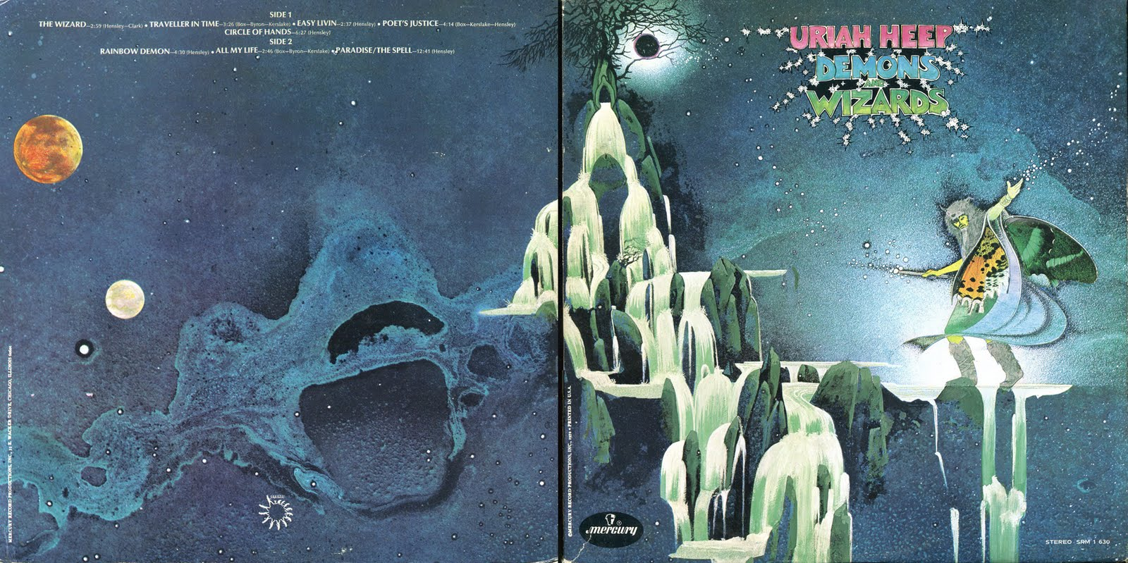 David S Rock Scrapbook Uriah Heep