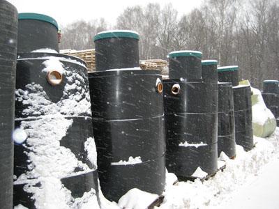 Септики зимой