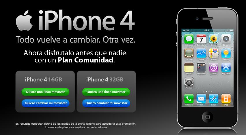 iPhone 4 precios