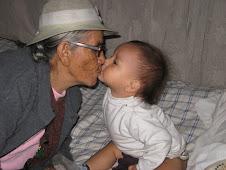 Con mi bisabuelita