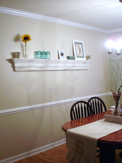 pottery barn inspired decorative ledge a tutorial