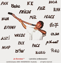 FRIEDE CD von Jo Sommer° , world champion 2000 Au Glasdidgeridoo, Darwin N.T.