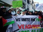 Demo Aman Gaza