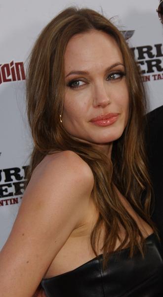 angelina jolie lip gloss. Angelina Jolie's Lip Gloss Revealed