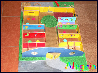 Maqueta jard n infantil alegr a for Maquetas de jardines
