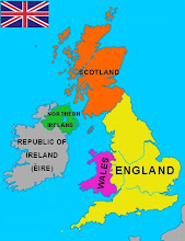 Map of The United KINGDOM