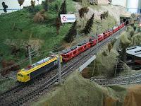 Maquetas de trenes en miniatura en la estación de Santa Justa de Sevilla hasta el 4 de enero de 2011