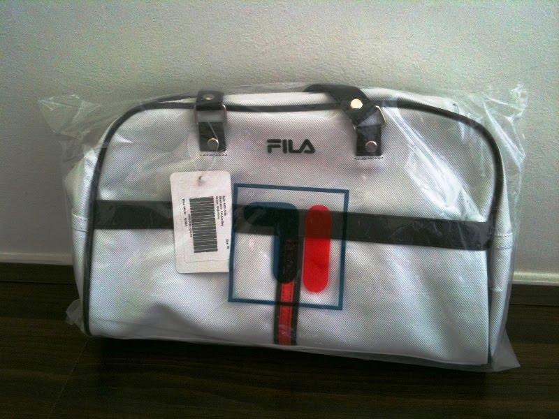 FILA Sports Bag - White