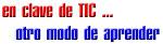 EN CLAVE DE TIC