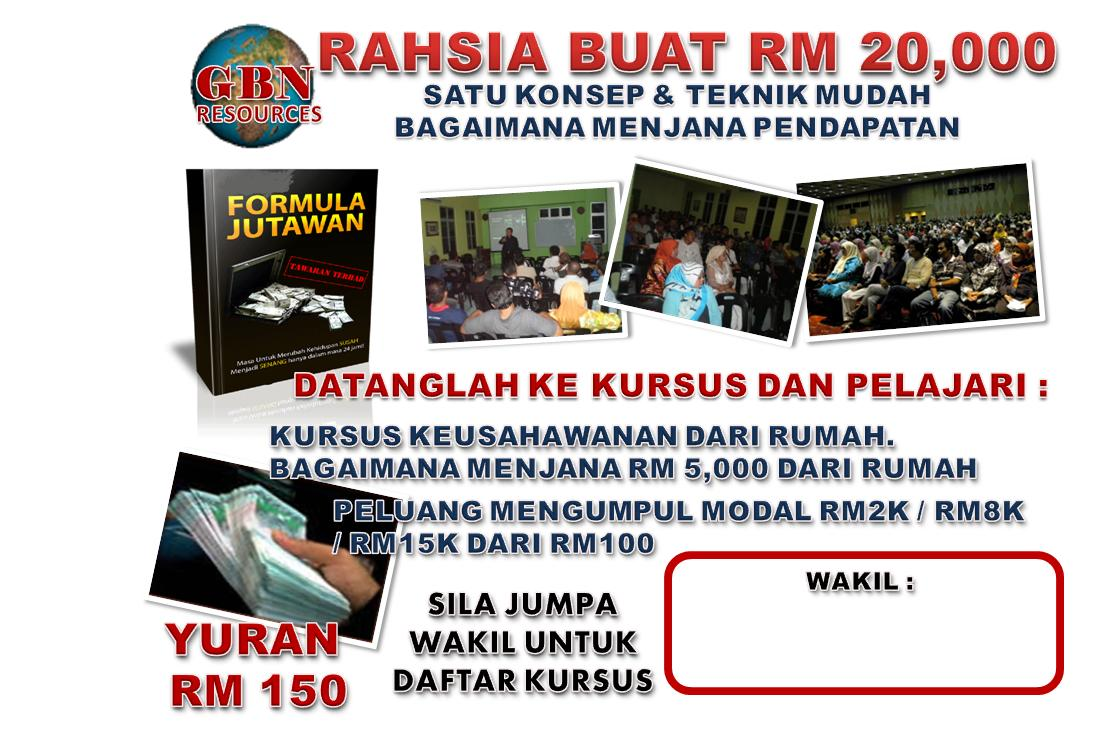 FLIERS TRAINING BUAT $$$