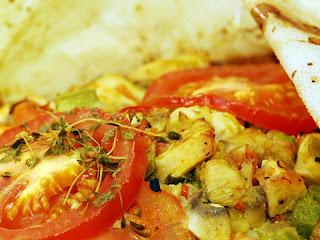 domatesli kagit kebabi 28229 - Tavuklu Ka��t Kebab�