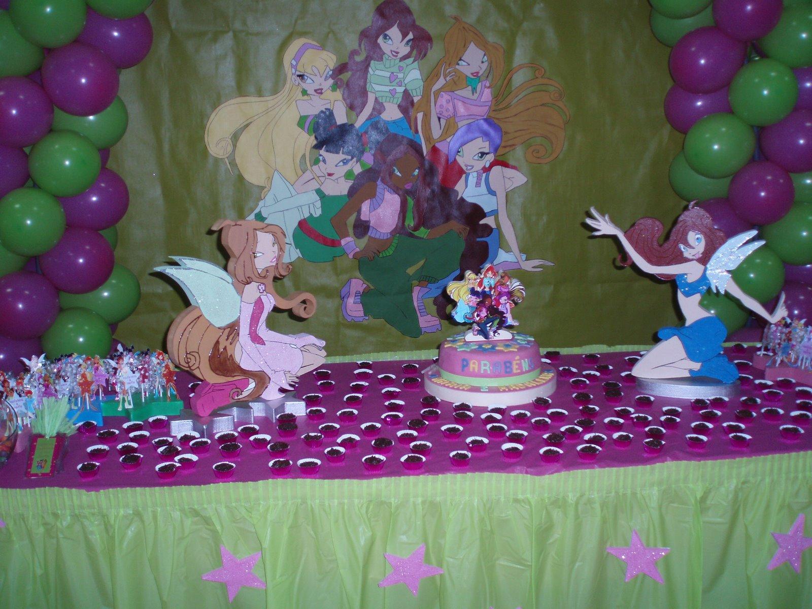 decoracao festa winx:Pretty Winx: Festa Winx!