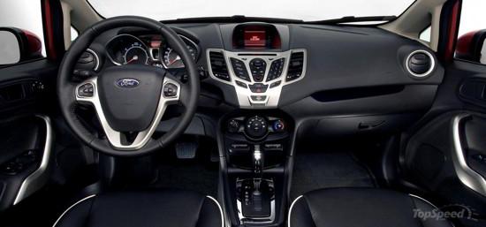 Ford Fiesta Tablero
