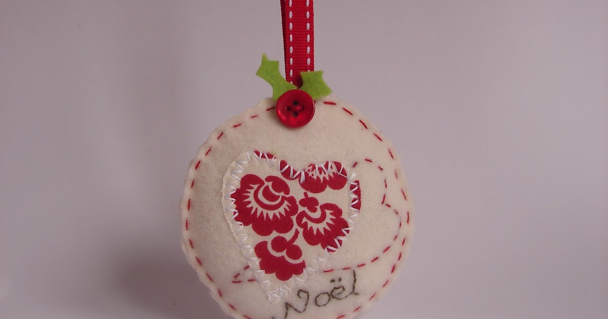 Roxy Creations Felt Christmas Ornaments