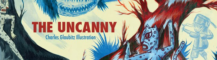 The Uncanny: Charles Glaubitz Illustration all images © 2011