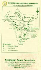 Peta Wilayah Keuskupan Kasri