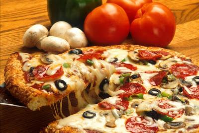 Post para dar hambre Supreme_pizza