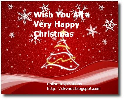 Christmas Wishes on Online Inspirations  Wish You A Merry Christmas