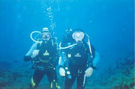 In immersione Enio e Martin