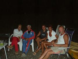 Cena in spiaggia agosto 2006