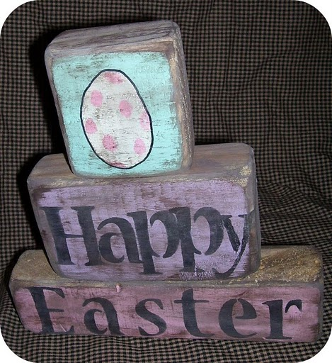 EASTER STACKING BLOCK SETS $8.00