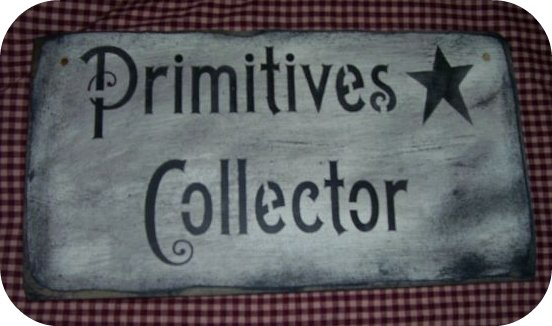 "PRIM COLLECTOR SIGN $8.00 6""x18"""