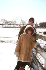 Cam and Liv at the Farm