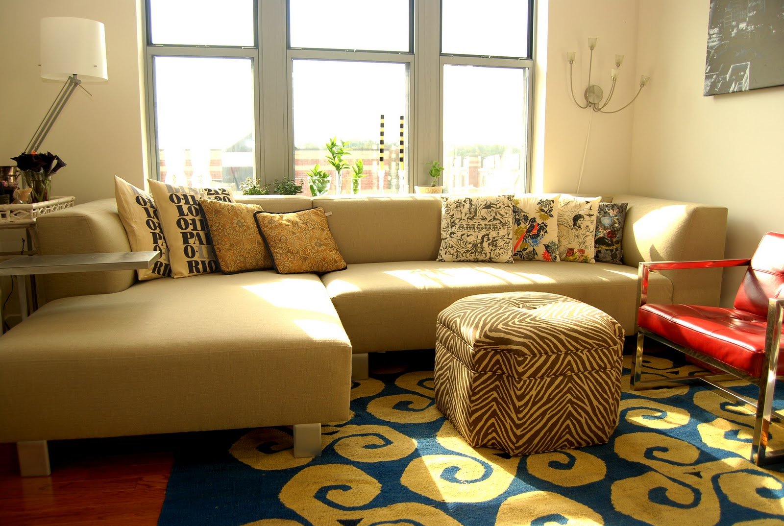 Before and After: Reviving the Living Room in Two Hours - Nicole ...