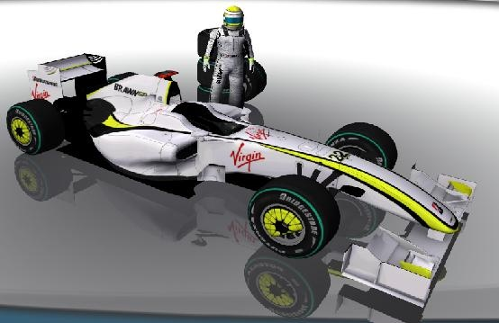 Preview rFactor F1 2009 WCP 1.1 Parche