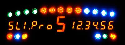 Display SLI-Pro para rFactor y volantes