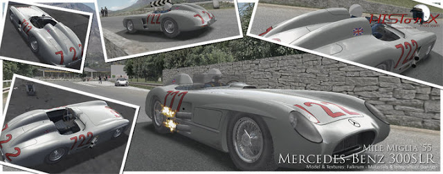 Preview HistorX 2.0  Mercedes benz 300 SLR para rFactor