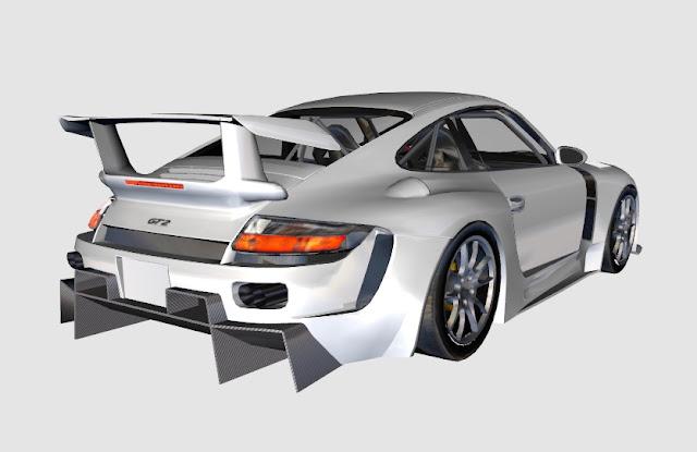 Porsche del GT Dream mod para rFactor