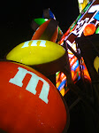 The M&M store in Time Square