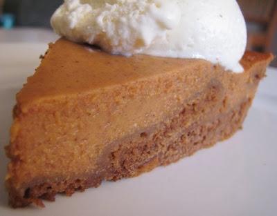 make happy: gingerbread pumpkin pie