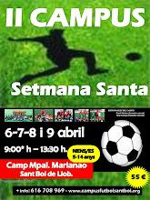 2ª edición CAMPUS SEMANA SANTA