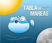 TABLA de MAREAS SOLUNARES