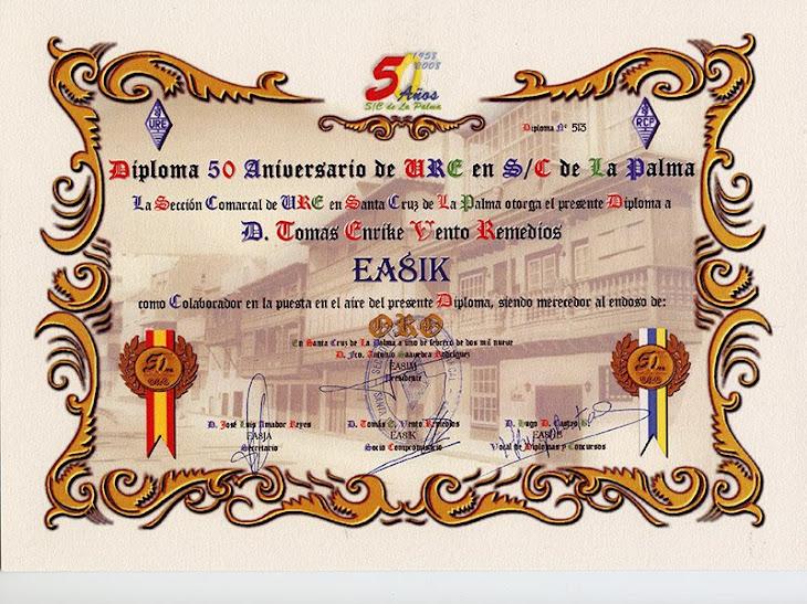 Diploma 50 Aniversario - RCP