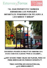 "Campaña ""ABANDONO Parque Infantil"""