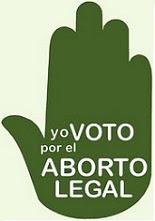 Aborto legal ya! Es un derecho!