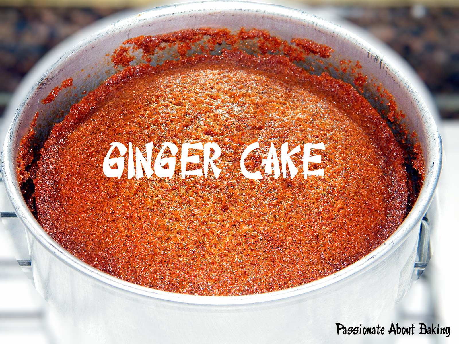 Alleluya Cafe's Ginger Cake   Passionate About Baking