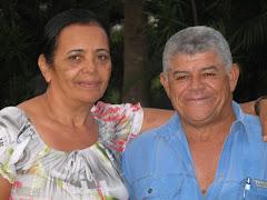 Benícia e Pr Eliezer Soares