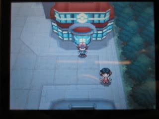 Man, that's a fancy Pokemon Center!