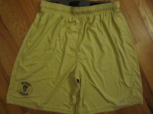 Colorado Buffs lacrosse practice shorts