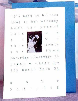 funny wedding invitations. A Modern Wedding Invitation