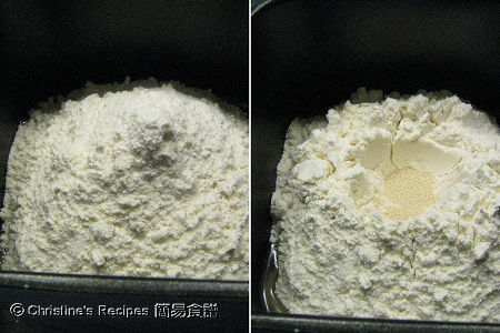 白麵包材料 Homemade White Bread Ingredients