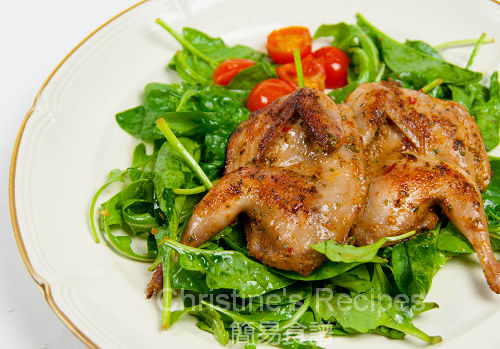 焗鵪鶉 Baked Spicy Quails01