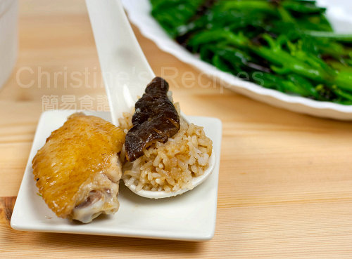 Steamed Chicken And Shiitake Mushrooms Recipe — Dishmaps